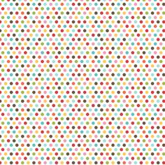 {everyday} multi dots fabric by misstiina on Spoonflower - custom fabric