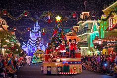 Officially on my bucket list! Going to spend Christmas in Disney one year.