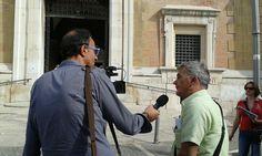 7-8-9 settembre mobilitazioni contro l'ondata inceneritorista di Renzi Il presidente della locale Capitanata Rifiuti Zero intervistato da tv locali