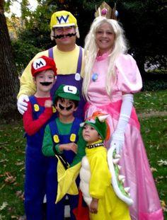 lol - Super Mario costumes!!