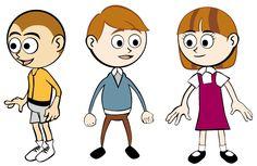 Vector Cartoon Children Illustration