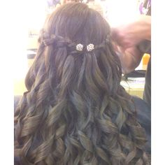 My hair for prom :)))