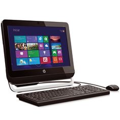 Desktop HP All In One 4GB RAM 500GB HD Windows 8 - Colombo