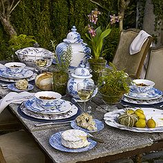 Juliska Country Estate Delft Blue Dinnerware