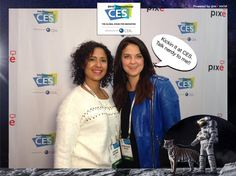 Kickin it at CES. Talk nerdy to me!! #CES2015 #PixeSocial