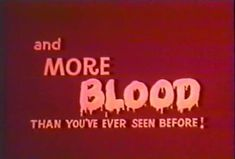 and more blood than you've ever even before // vintage red aesthetic Vampires, Ibuki Mioda, Carrie White, Non Plus Ultra, Mileena, Sweet Revenge, Joelle, Luanna, Night Vale