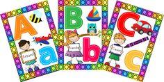 Software Libre, Color, Creating An Entryway, Alphabet For Kids, Printable Cards, Colour, Colors