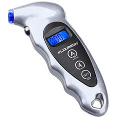 Buy FLOUREON MD - 01 Portable Digital LCD Tire Tyre Wheel Air Pressure Gauge Tester, sale ends soon. Be inspired: discover affordable quality shopping on Gearbest Mobile! Air Pressure Gauge, Button Cell, Car Gadgets, Muhammad Ali, Display Screen, Car Accessories, Gauges, Office Supplies, Diy
