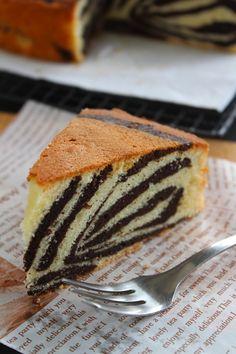 斑马牛油蛋糕