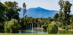 Lake view of Villa Reale (Lucca, Tuscany) Photo by pgmedia. Lake View, Lucca, Tuscany, Villa, River, Outdoor, Outdoors, Outdoor Games, Outdoor Life