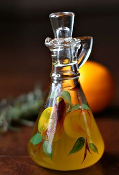 Lemon/Herb-Infused Olive Oil