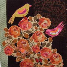 Mandy Pattullo aim is to create pieces which would make the viewer look again at old textiles which might be past their use b Bird Quilt, Little Birdie, Art Textile, Textiles, Old Antiques, Vintage Fabrics, Surface Pattern, Fiber Art, Thrifting