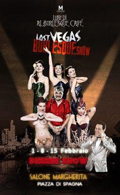 """Four Vegas - Il blog: Al Bianchi nel cast del """"Lost Vegas Burlesque Show..."""