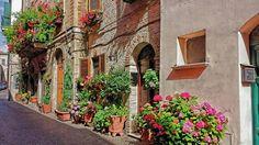 Atri small village Abruzzo