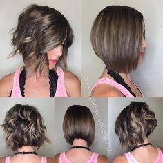 55 cute short haircuts for women in 2019 Short Curly Haircuts, Haircuts For Fine Hair, Haircut For Thick Hair, Short Hair Cuts For Women, Girl Short Hair, Pretty Hairstyles, Bob Hairstyles, Medium Hair Styles, Curly Hair Styles