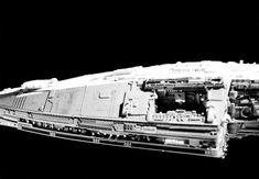 Kampfstern Galactica, Battlestar Galactica 1978, Environment Concept Art, Movie Props, Sci Fi Fantasy, The Originals, Spaceship, Modeling, Steampunk