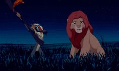 Baby-endangering social climber Rafiki in The Lion King. | 13 Minor Disney Characters Who Are Actually Monsters
