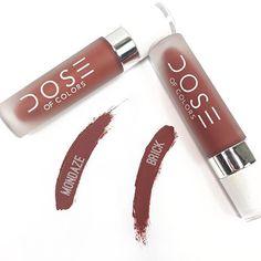 #Lipstick #Mondaze #Brick #DoseOfColors
