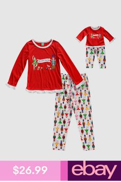 Dollie   Me Girl 4-14 and Doll Matching Gingerbread Pajamas Outfit ... 64b208870