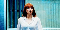 Claire does sexy elevator exits too! They should sexily exit the elevator at the same time next movie- Jurassic World Claire, Jurassic Park World, Brice Dallas Howard, Claire Dearing, Amazing Spider, Female Celebrities, Elevator, Boss Babe, Saga