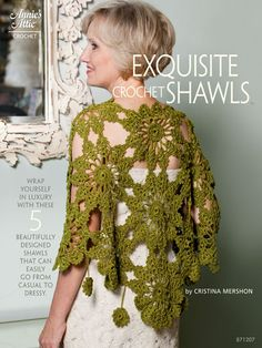 Exquisite Crochet Shawls patterns book. downloadable $8.95. Would love to have this!