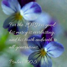 Psalm 100:5 KJV