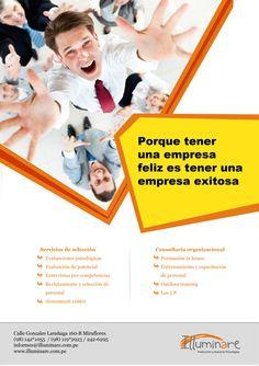 Afiche Psicologia Corporativa Illuminare