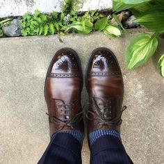 Genesio Colletti & Son 今日は早めに家を出ました 帰りが遅くなりませんように #genesiocolletti #genesiocollettiandsonltd #shoes #mensshoes #shoesoftheday #sotd #ジェネシオコレッティ #紳士靴 #革靴