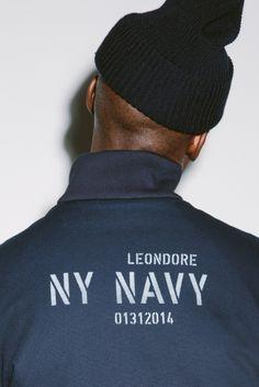 "Aimé Leon Dore 2015 Spring/Summer ""NY NAVY"" Lookbook"
