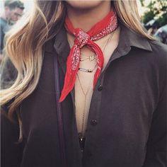 A VOLTA DA BANDANA - Fashionismo