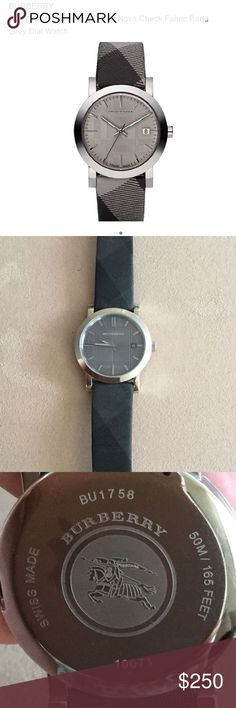 Burberry Men's Watch ⌚️ See photos for product details. Used some small scratches and dings but great condition! Burberry Accessories Watches