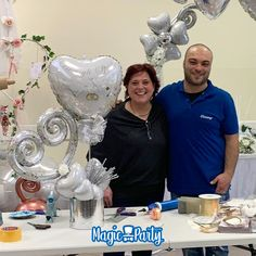 Balloon Centerpieces, Balloon Decorations, Valentines Balloons, Magic Party, Ballons, Balloon Bouquet, Decoration Table, Anniversary, Awesome