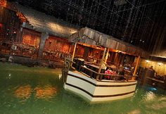 The Tonga Room in San Francisco's Fairmont Hotel is built around a swimming pool, which has a boat where a band plays most evenings. Photo: Brant Ward, The Chronicle San Francisco Bars, Rain And Thunder, Lombard Street, Vintage Tiki, Fairmont Hotel, Golden Gate Park, Rockefeller Center, Tonga, Hostel