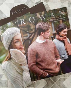 Crochet Numbers, Rowan Knitting, Knitting Magazine, Knitwear, Atlanta, Winter Hats, Crochet Hats, Boutique, Fashion