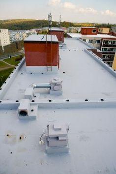 Rekonstrukce ploché střechy #domy