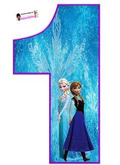 Comenzamos publicando en el sitio de Frozenunos espectaculares números de Elsa y Anna para toda ocasión. Decoración de cumpleaños,adorno para pastel,tal vez colocando el número que cumple la home…