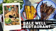 We spent 5 weeks in Hoi An and in that time we visited Bale Well 4 times. This spot became our Friday night dinner tradition, if a tradition can last a mere 4 weeks. On our first Friday in Hoi An a… South African Braai, Prawns Fry, Fried Spring Rolls, Pork Skewers, Banh Xeo, Friday Night Dinners, Rice Paper Rolls, Very Hungry, Hoi An