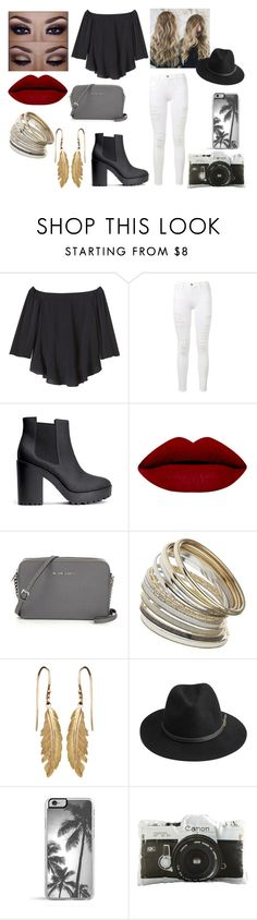 """Untitled #81"" by kora-muffin on Polyvore featuring Rebecca Taylor, Frame Denim, H&M, Miss Selfridge, BeckSöndergaard, Zero Gravity, Dot & Bo, vintage, women's clothing and women's fashion"