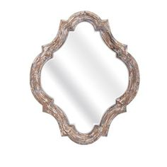 Sealy Vintage Mirror Imax Arched & Crowned Mirrors Home Decor