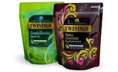 New Twinnings Tea packaging
