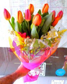Bouquet de tulipanes...