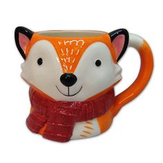 Morning coffee is just cuter with this St. Nicholas Square fox mug.