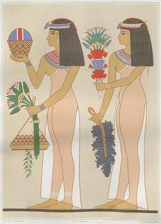 This piece of art, titled: The Atlas of Egyptian Art, was created by Émile Prisse d'Avesnes a French scholar, this is estimated to have been created between 1827 to 1844 BCE