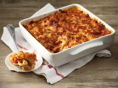 Tämä helppo ja mehevä pastavuoka valmistuu kädenkäänteessä ja maistuu myös perheen pienimmillekin.