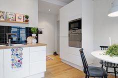 Cozinha em Preto e Branco