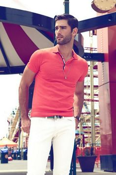 Ricardo Baldin for photographer Thomas Synnamon; styling by Jorge Gallegos, hair by Bryan Feiss.