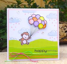 Such a cute card by Lols for the Simon Says Stamp Wednesday challenge (Anything Goes)