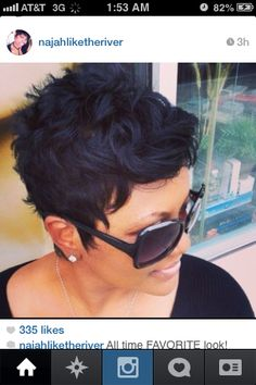 Like The River Salon, Atlanta, GA Stylist- Najah (Instagram - najahliketheriver)