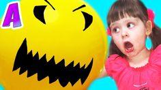 Гигантский Шар Слопал Семью Giant balloon attack Family