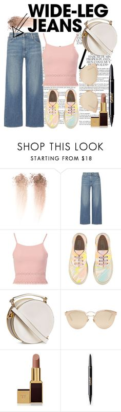 """Wide Leg Jeans"" by short-stuff25 ❤ liked on Polyvore featuring Whiteley, Vince, Pilot, STELLA McCARTNEY, Christian Dior and Tom Ford"